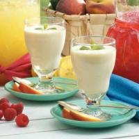 Peaches 'n Cream Smoothie