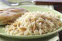 Rice Almondine