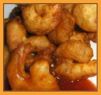 Beer batter shrimp