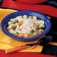 Chicken 'n dumplings