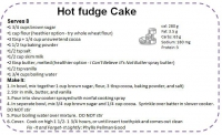 Mom's Fudge