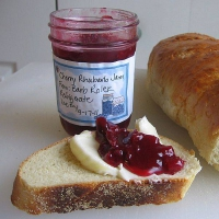 Cherry Rhubarb Jam