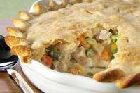Inside-Out Chicken Pot Pie